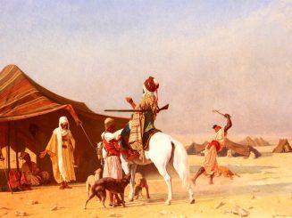 אברהם מכניס אורחים